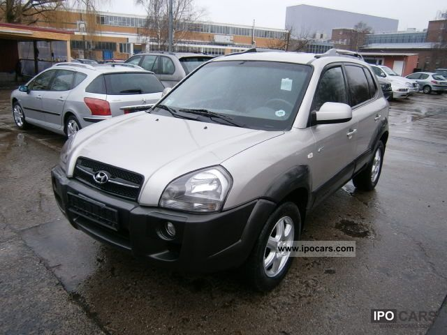2005 hyundai tucson 2 0 crdi at 4wd automatik leder klima. Black Bedroom Furniture Sets. Home Design Ideas
