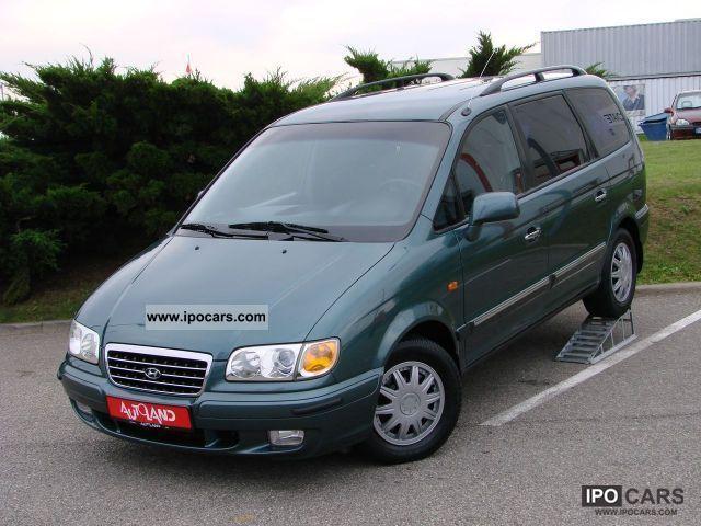 2000 Hyundai  Trajet 2.0i 16V 7-seater air / Nebelscheinwerf Van / Minibus Used vehicle photo