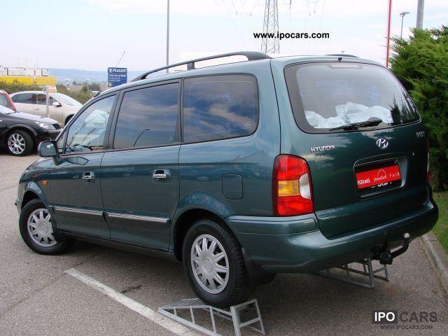 2000 Hyundai Trajet 2 0i 16v 7 Seater Air Nebelscheinwerf Car Photo And Specs