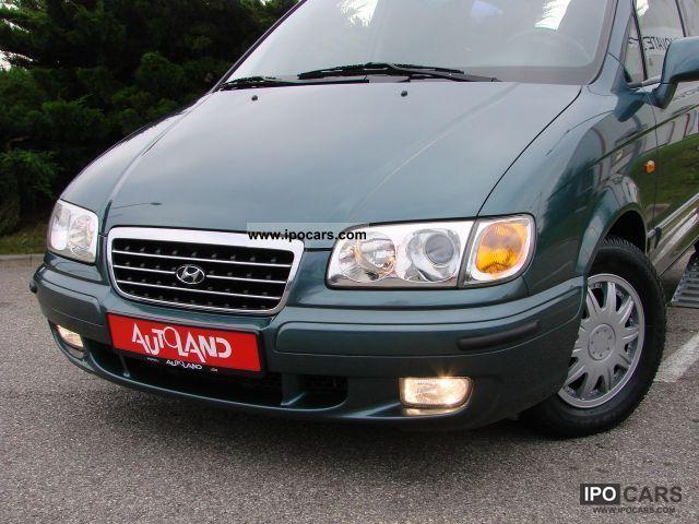 2000 Hyundai Trajet 2 0i 16v 7 Seater Air