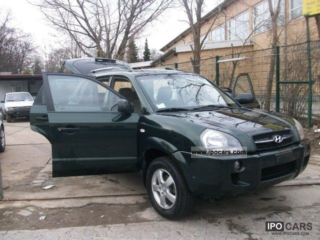 2005 hyundai tucson 2 0 crdi 4wd car photo and specs. Black Bedroom Furniture Sets. Home Design Ideas