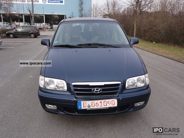 Hyundai  Trajet 2.0 GLS 2007 Liquefied Petroleum Gas Cars (LPG, GPL, propane) photo