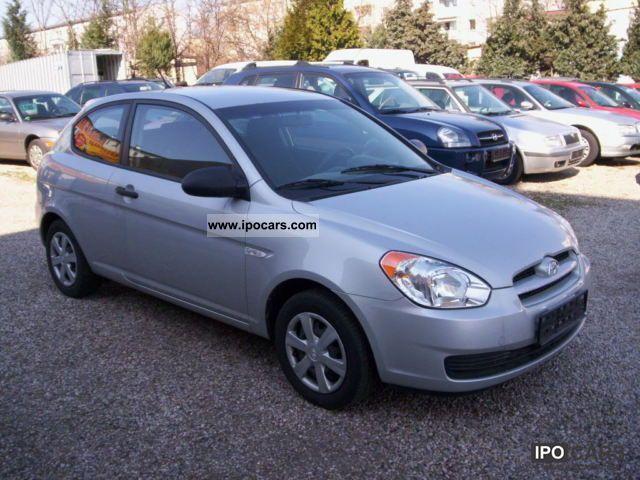 2009 Hyundai  Accent 1.4 GL 1.HAND, EURO-4 standard, AIR Limousine Used vehicle photo