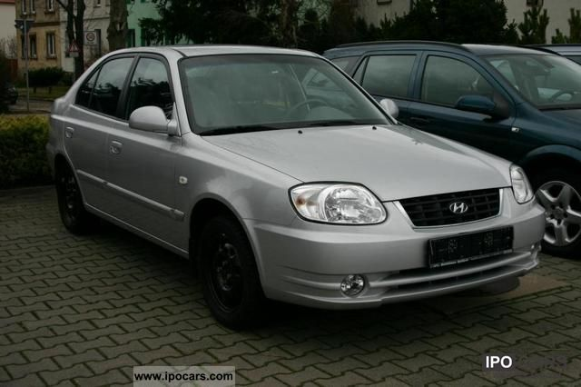 2006 Hyundai Accent 1 3 Gls Car Photo And Specs