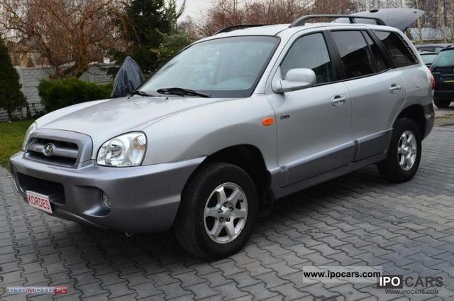 2005 Hyundai  Santa Fe CRDi * Diego * SKORA * climate control * Off-road Vehicle/Pickup Truck Used vehicle photo