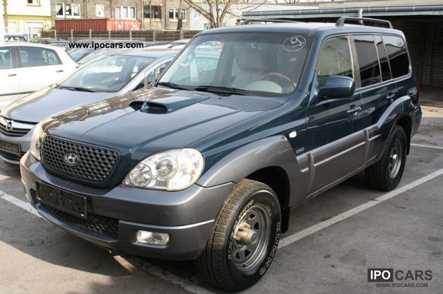 2007 Hyundai  Terracan 2.9 CRDi 4WD Net 6639 -. EUR Off-road Vehicle/Pickup Truck Used vehicle photo