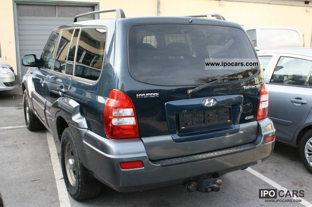 2007 hyundai terracan 2 9 crdi 4wd net 6639 eur car photo and specs. Black Bedroom Furniture Sets. Home Design Ideas