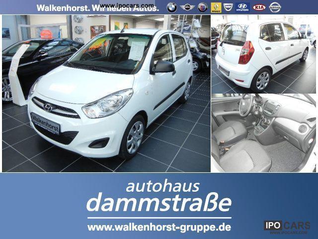 2012 Hyundai  i10 1.1, Air, Central, Radio CD, dt.Fz. 5 years Limousine Employee's Car photo