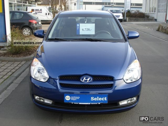 2007 Hyundai  + Accent Air, Al's, winter wheels + Limousine Used vehicle photo