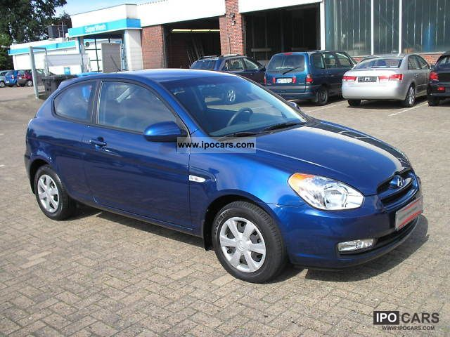 2007 Hyundai Accent Gl 1 4 3t Car Photo And Specs