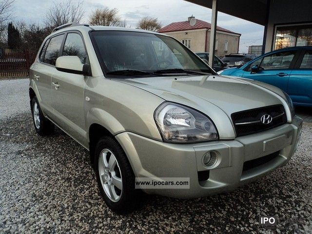 2004 Hyundai  Tucson tys 120 km, climate control, Z gwarancja Other Used vehicle photo