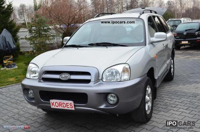 2005 Hyundai  Santa Fe CRDi * FL * DIEGO OPŁACONY * SKORA * Other Used vehicle photo