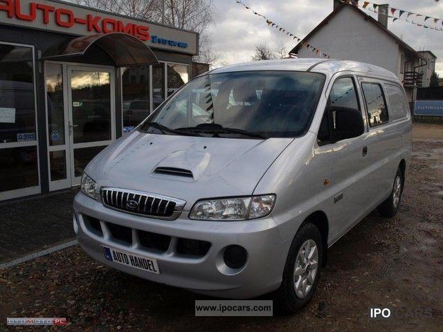 2007 Hyundai  H-1 STAREX 2.5CDRDI 140HP! Van / Minibus Used vehicle (business photo
