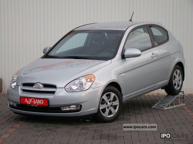 2008 Hyundai  Accent 1.4i GL climate 1.Hand Limousine Used vehicle photo