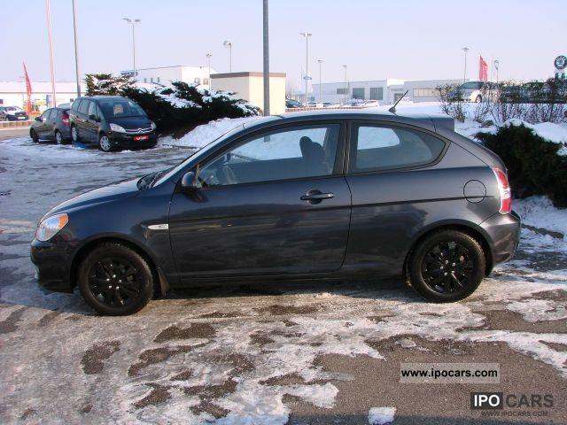 2007 Hyundai Accent GL 3-door 1.4i. EU4 air / Nebelscheinwer - Car