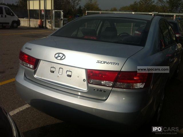 2008 Hyundai  Sonata GL 2.0 CRDI FAP Limousine Used vehicle photo