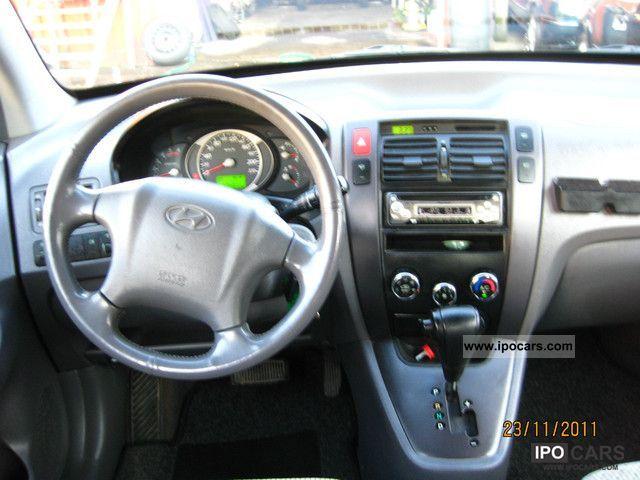 2004 Hyundai Tucson 2 0 Crdi Gls 2wd Auto Car