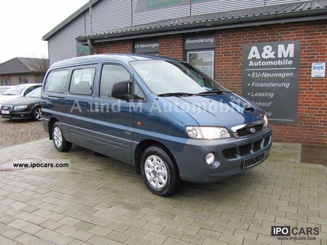 2005 Hyundai  H-1 Starex 9 seater air-APC Van / Minibus Used vehicle photo