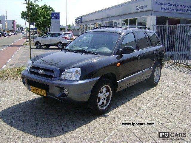 2005 Hyundai  Santa Fe 2.0i 2WD-16v Dynamic Motion Off-road Vehicle/Pickup Truck Used vehicle photo