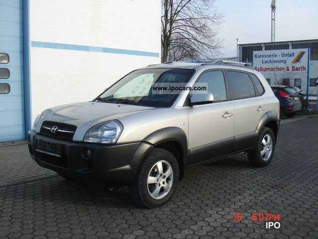 2007 Hyundai  Tucson 2.0 CRDi VGT 2WD leather climate control Off-road Vehicle/Pickup Truck Used vehicle photo