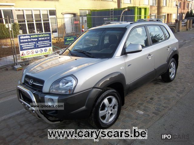 2007 Hyundai  Tucson 2.0 CRDi VGT GLS 4WD Off-road Vehicle/Pickup Truck Used vehicle photo