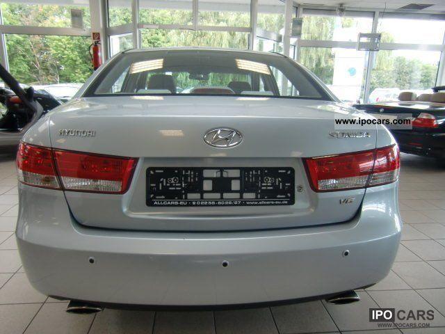 2005 Hyundai Sonica V6 Car Photo And Specs