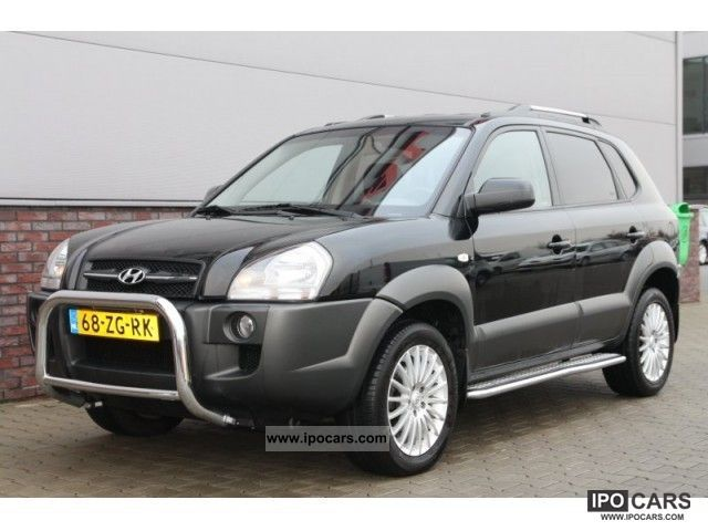 2008 Hyundai Tucson 2 0crdi Style Version Car Photo And