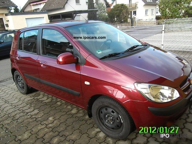 Hyundai  Getz 1.6 GLS LPG, winter tires, air conditioning, Central 2010 Liquefied Petroleum Gas Cars (LPG, GPL, propane) photo