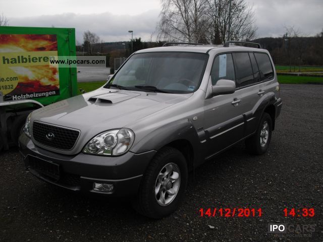 2006 Hyundai  Terracan 2.9 CRDi Automatic GL Off-road Vehicle/Pickup Truck Used vehicle photo