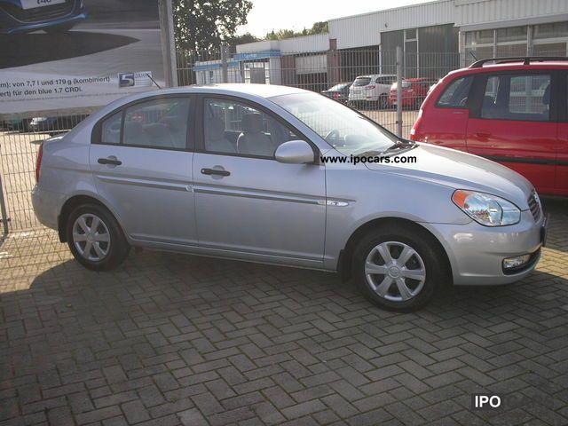 2008 Hyundai  ACCENT GL 1.4 4T Limousine Used vehicle photo