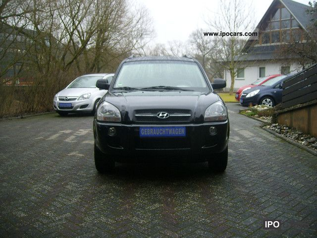 2008 Hyundai  Tucson 2.0 CRDi 4WD comfort, air conditioning, four-wheel Off-road Vehicle/Pickup Truck Used vehicle photo