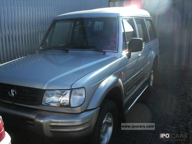 1999 Hyundai  Exeed Off-road Vehicle/Pickup Truck Used vehicle photo