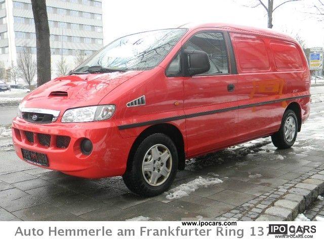 2003 Hyundai  H 1 twin rear doors * Double front passenger seat * Van / Minibus Used vehicle photo