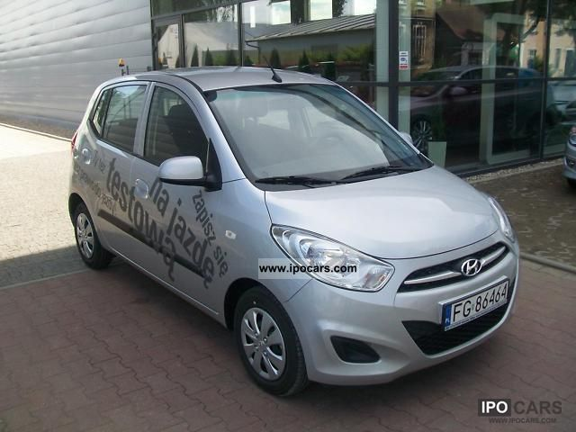 2011 Hyundai  Samochód DEMONSTRACYJNY Small Car New vehicle photo