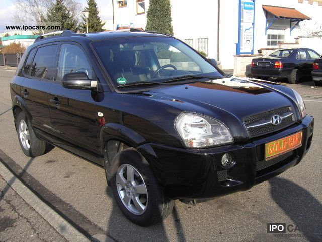 Hyundai  2WD Tucson 2.0 GLS LPG * 1.HAND, FULL LEATHER * 2008 Liquefied Petroleum Gas Cars (LPG, GPL, propane) photo