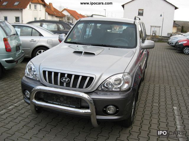 2001 Hyundai  Terracan 2.9 CRDi Off-road Vehicle/Pickup Truck Used vehicle photo