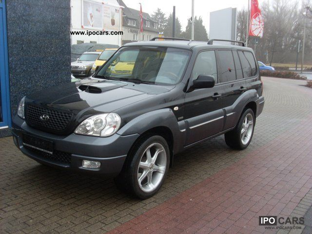 2007 Hyundai  GLS Terracan 163 hp 3.5T Scheckheftgepflegt Anhä Off-road Vehicle/Pickup Truck Used vehicle photo