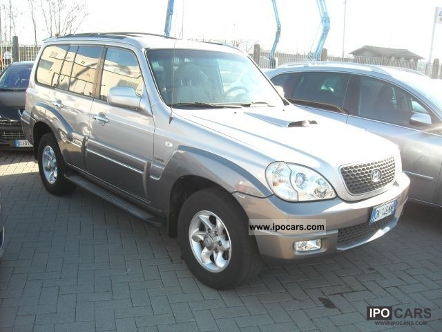 2007 hyundai terracan 2 9 crdi cat dynamic car photo and specs. Black Bedroom Furniture Sets. Home Design Ideas