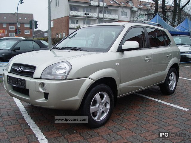 2008 Hyundai  Tucson Air Conditioning 2.0 / navigation Off-road Vehicle/Pickup Truck Used vehicle photo