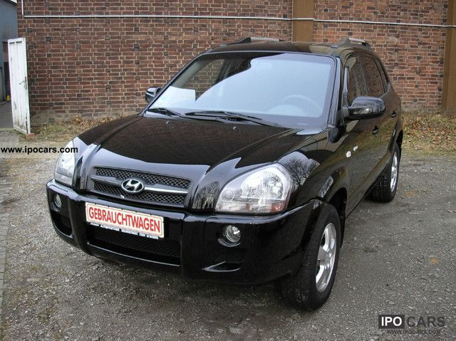 2008 Hyundai  Tucson GLS 2.0 4WD Off-road Vehicle/Pickup Truck Used vehicle photo