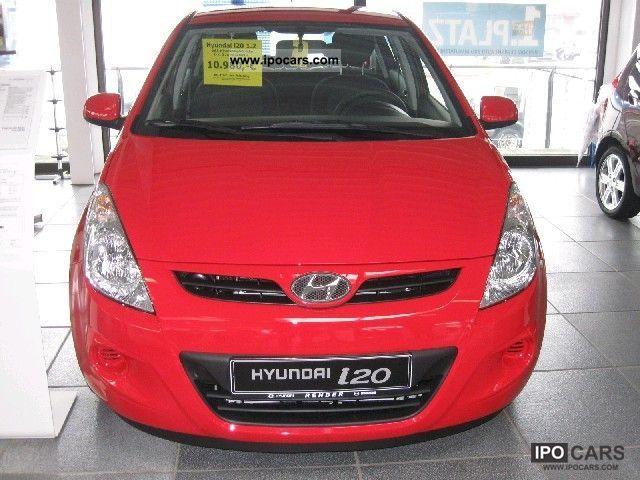 2012 Hyundai  i20 Edition20 including air conditioning Small Car Pre-Registration photo