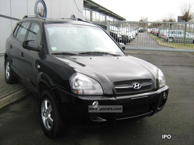 2008 Hyundai  Tucson 2.0 2WD gas air / Navi Off-road Vehicle/Pickup Truck Used vehicle photo