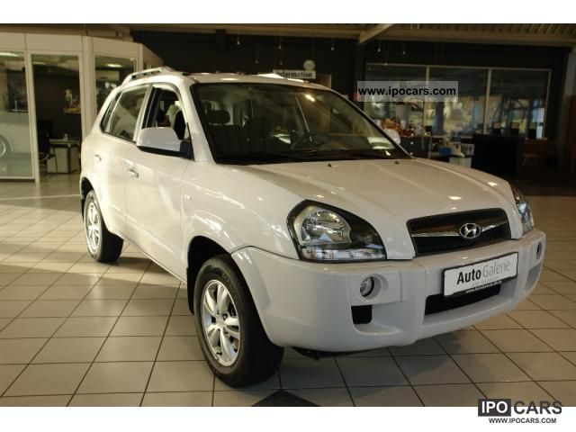 2010 Hyundai  Tucson 2.0 km 2WD/AHK/Klimaanlage/Wenig Off-road Vehicle/Pickup Truck Used vehicle photo