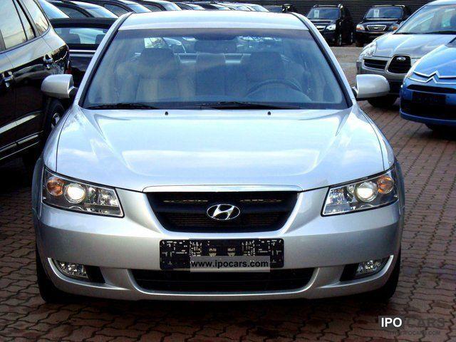 2007 Hyundai Sonata 2.0 CRDi Automatic / Leather (2Jh.Garantie) - Car ...