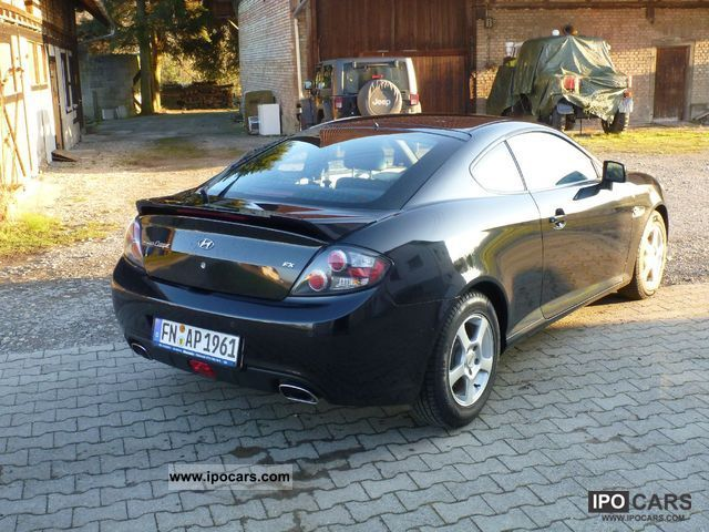 2008 Hyundai Coupe 2 0 Fx Sports Car Used Vehicle Photo