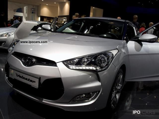 2011 Hyundai  Veloster base 1.6 GDI petrol air conditioning - 1 .. Sports car/Coupe New vehicle photo