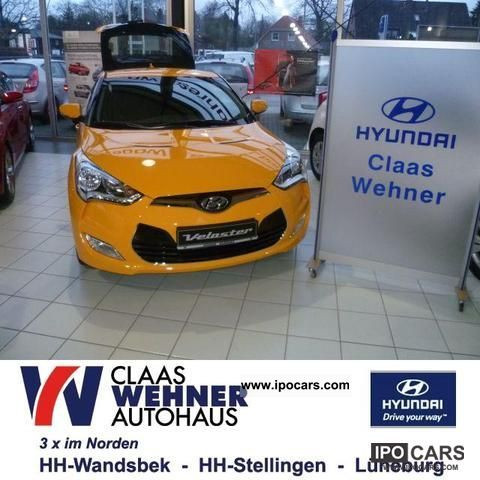 2012 Hyundai  Veloster 1.6 Style Sports car/Coupe Pre-Registration photo