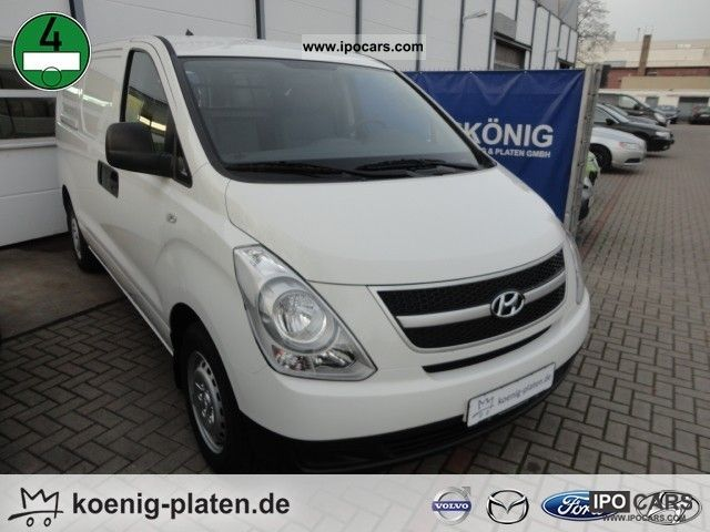 2010 Hyundai  H-1 2.5 CRDi (€ 4) m. Dop electric windows Van / Minibus Used vehicle photo