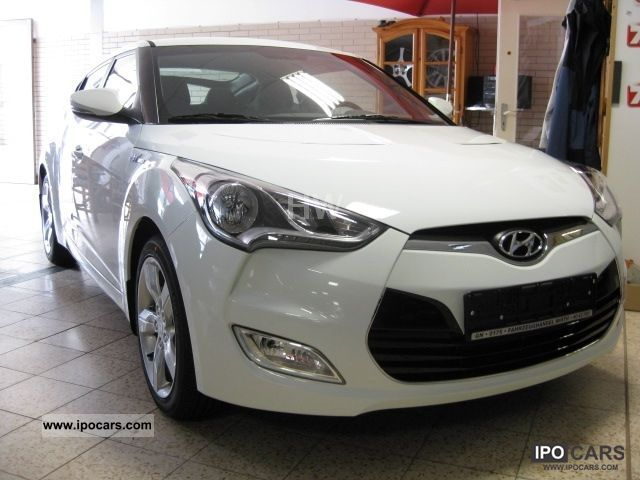 2011 Hyundai  VELO STER EDITION 6.1-ALU 17 Sports car/Coupe New vehicle photo