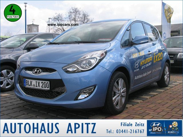 Hyundai ix20 1.4 CRDi Comfort KLIMAAUTOMATIK 2010 Used vehicle photo